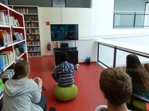 Spieletag in der Mediothek Krefeld