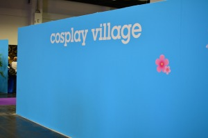 Cosplay-Village auf der Gamescom.