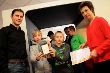 Eröffnung der Ecke für Jugendliche in der Stadtbücherei Werne