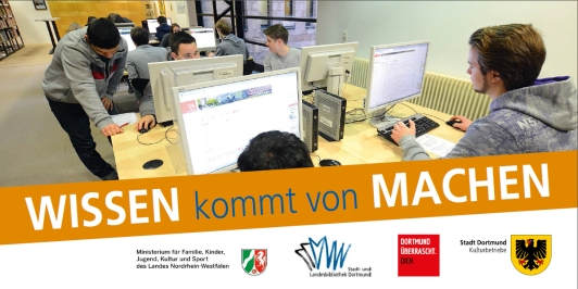 Creation Lab der Stadt- und Landesbibliothek Dortmund