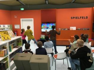 Gaming in der Stadtteilbibliothek Sterkrade Bild: © Stadtbibliothek Oberhausen