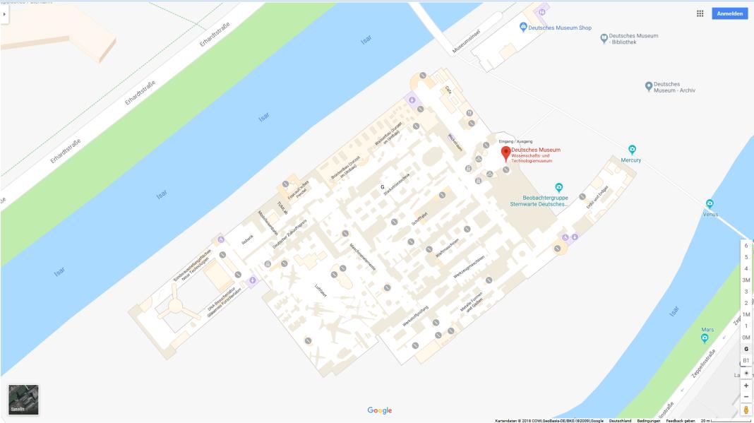 Google Indoor Maps_Deutsches Museum München
