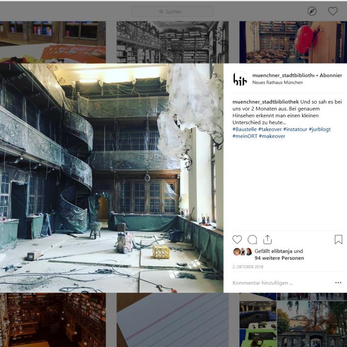Münchner Stadtbibliothek Instagram - https://www.instagram.com/p/Bobzf5zFqPn/