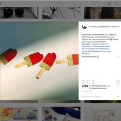 Münchner Stadtbibliothek Instagram vom 24.08.2018 - https://www.instagram.com/p/Bm3OZndjIxb/