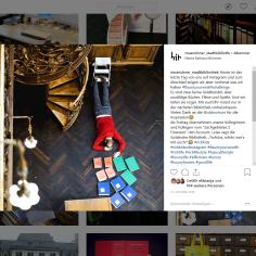 Münchner Stadtbibliothek Intagram vom 31.10.2018 - https://www.instagram.com/p/BpmsRDYl8jV/