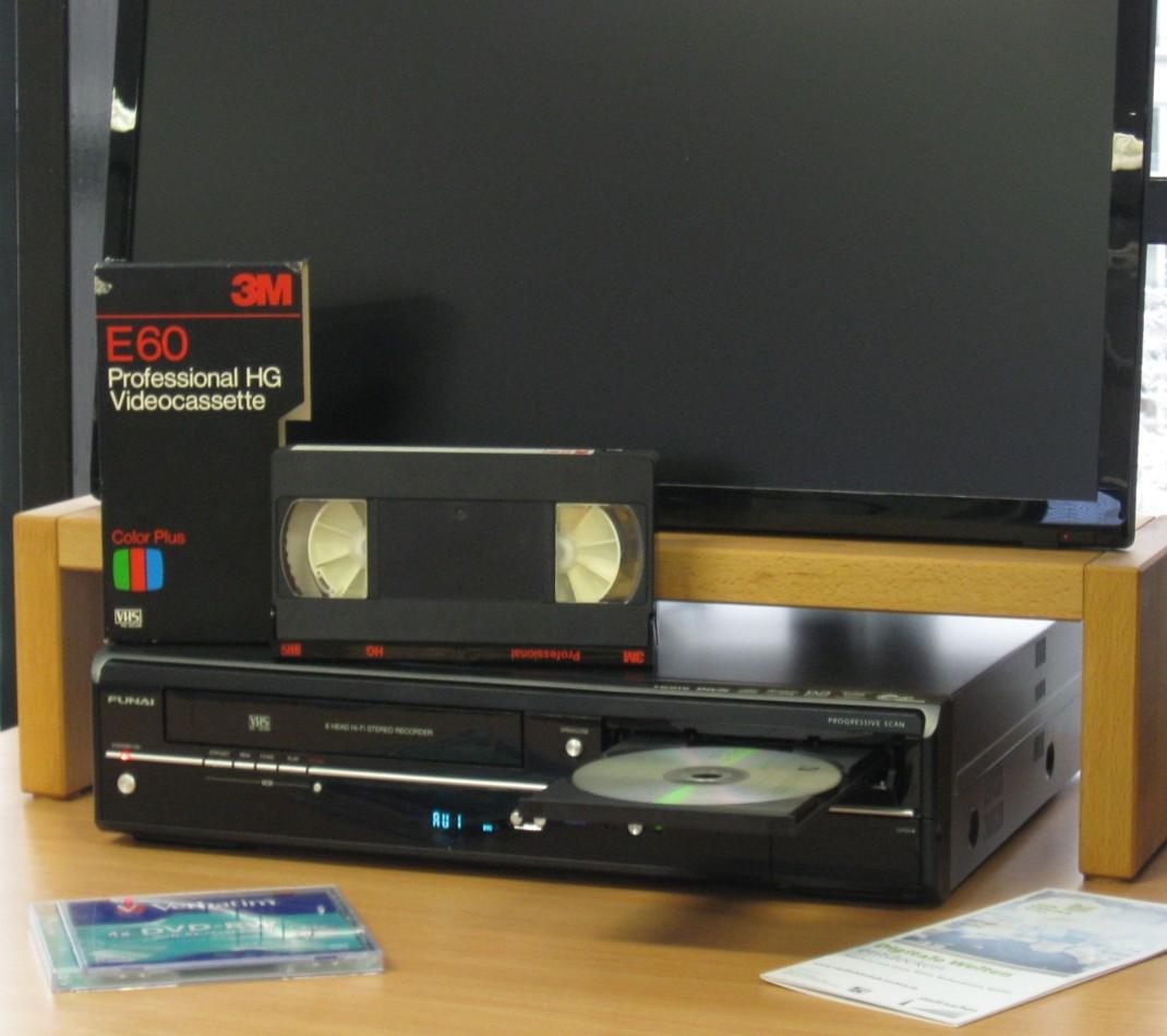 FilmBar zum Digitalisieren von Videokassetten