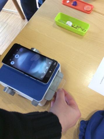 Mikroskopaufsatz fürs Smartphone