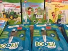 Bookii-Stifte und -Bücher